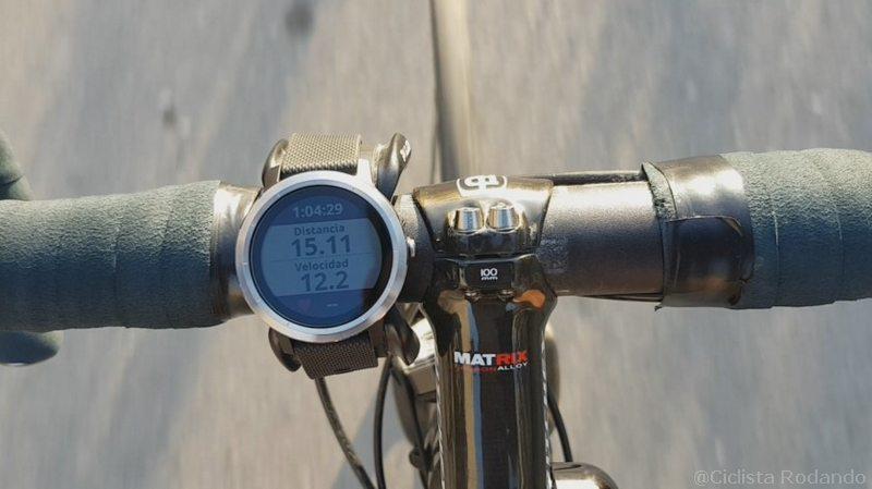 Garmin VivoActive 3 Bicicleta review soporte