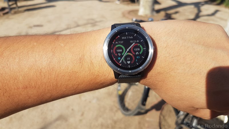 Garmin VivoActive 3 Bicicleta review 3