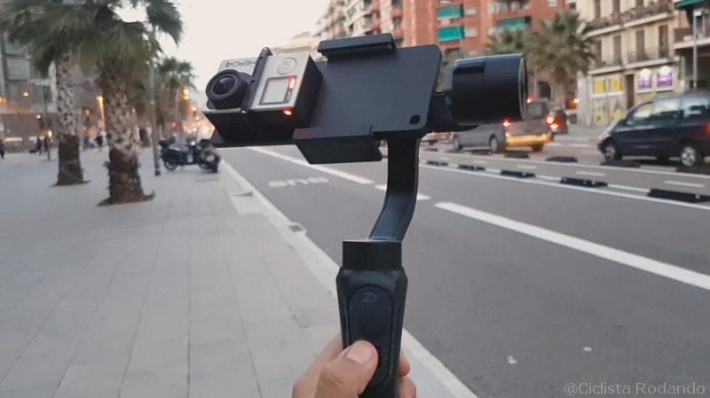 estabilizador zhiyun smooth q3 con gopro