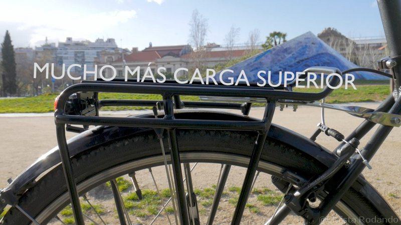 transportin bicicleta doble altura