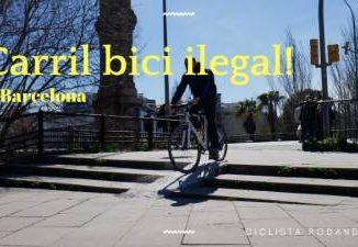 ciclovia ilegal barcelona (Portada)