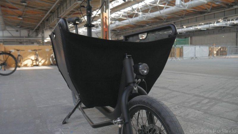 bicicleta de carga compacta