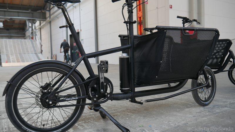 pendix bicicleta carga con asistencia