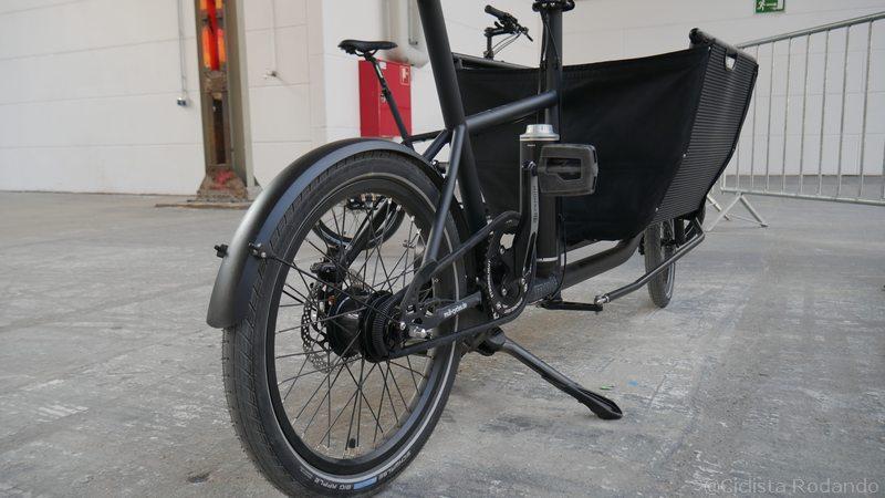 Muli cargo bike electrica