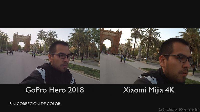 Gopro Hero 2018 Vs Xiaomi Mijia 4K comparativa