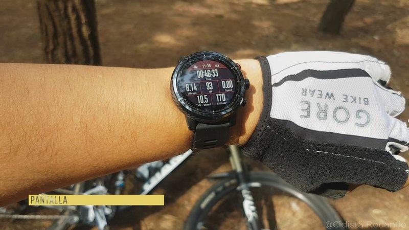 Xiaomi Amazfit Statos 2 bicicleta natación review 16