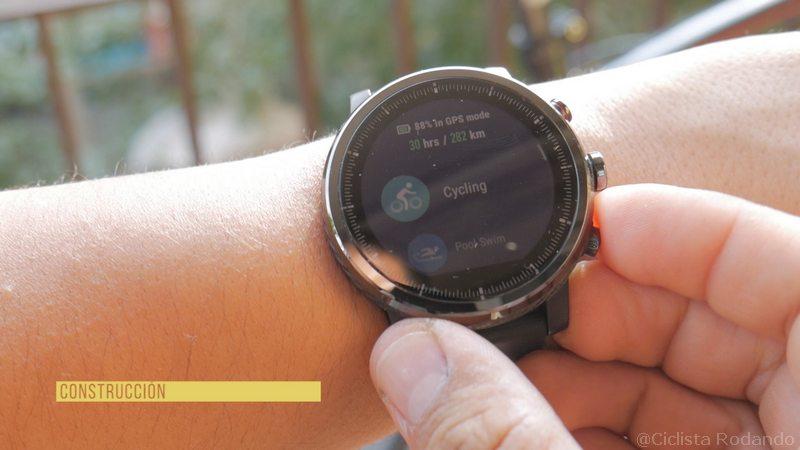 Xiaomi Amazfit Stratos 2 Review Bicicleta Y Nataci 243 N 191 El Mejor Smartwatch