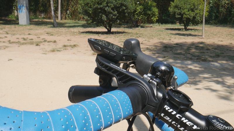 sistema enganche garmin bicicleta