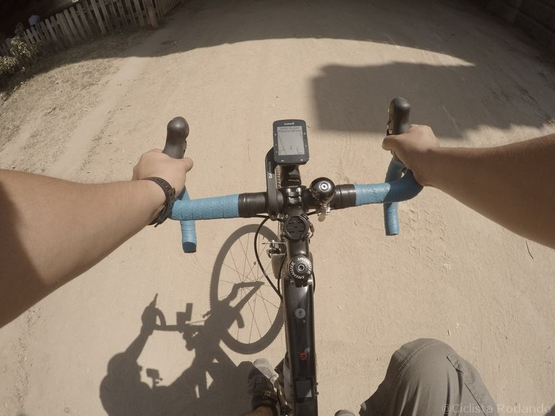 bicicleta carretera garmin edge 520