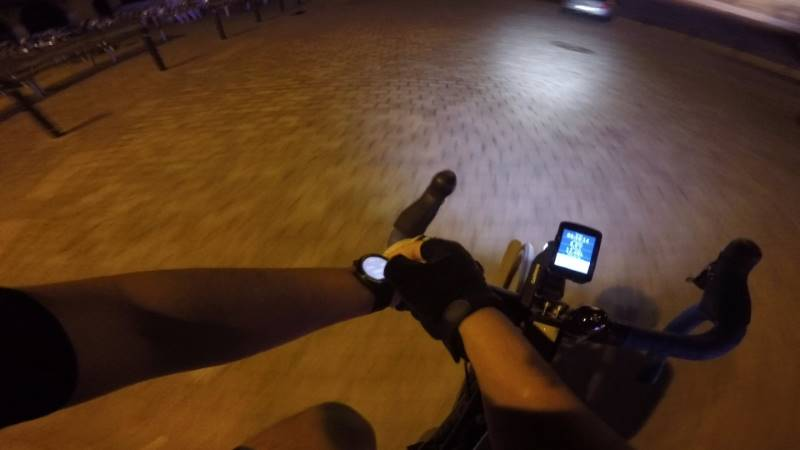 Garmin Edge 520 plus night