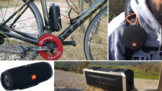 Mejores altavoces bt para la bicicleta