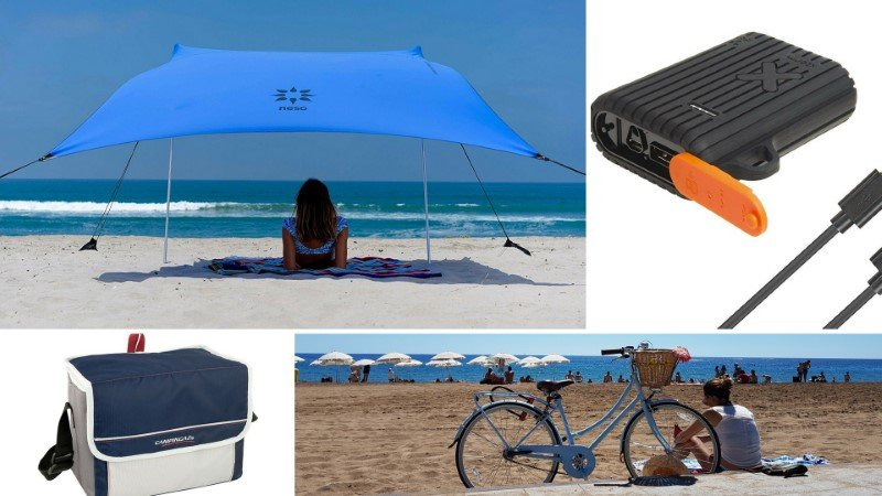 bicicleta playa accesorios gadgets