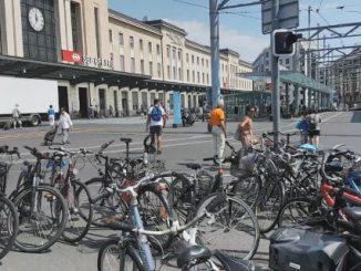 Roban bicicletas en Ginebra