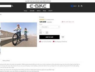 pagina web falsa bicicletas