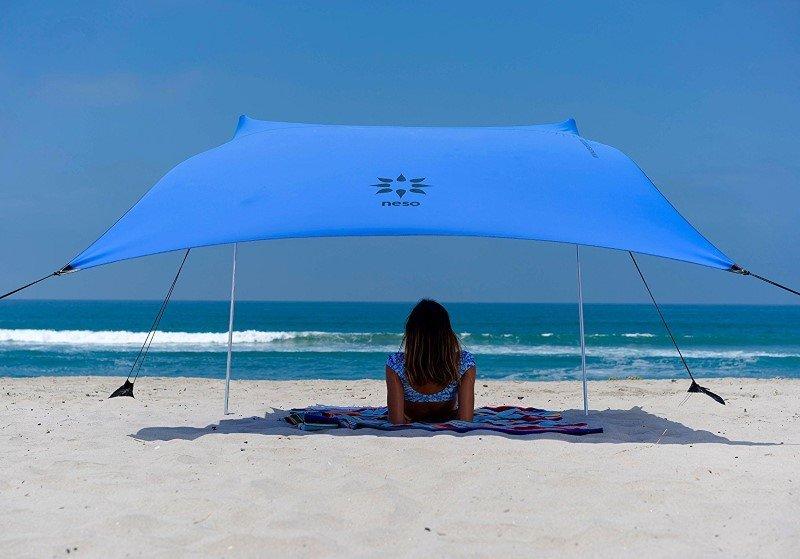 parasol compacto playa
