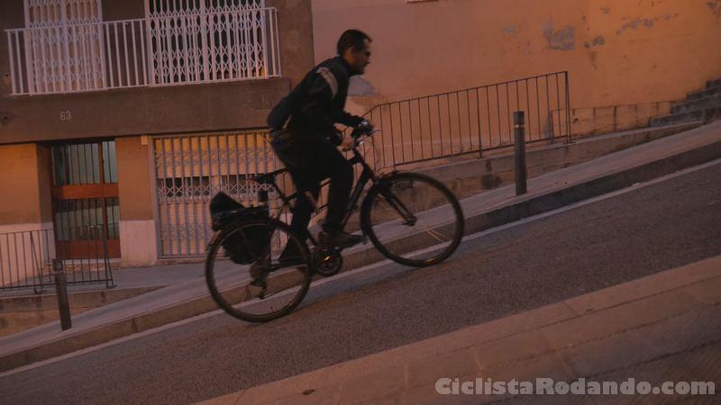 bicicleta de subida