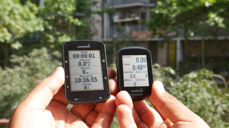 comparativa garmin 130 vs 520 plus