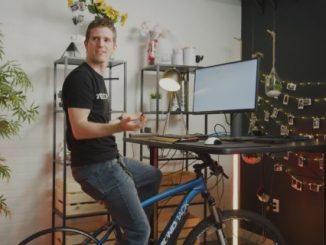 ordenador que se APAGA si dejas de pedalear