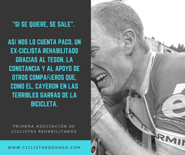 primera asociación de ciclistas REHABILITADOS