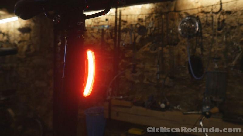 luz trasera bicicleta brompton