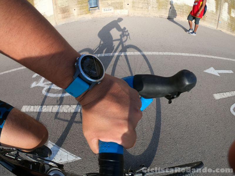 Garmin fenix 5s review en bicicleta