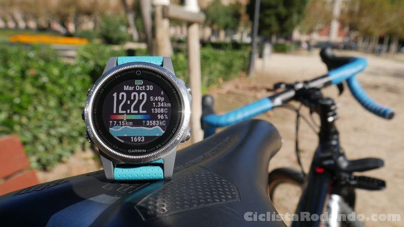 fenix 5s review español bicicleta correr y nadar 30