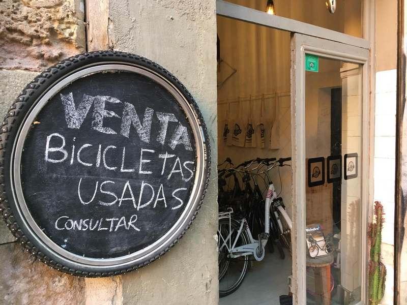 barcelona bicicletas segunda mano