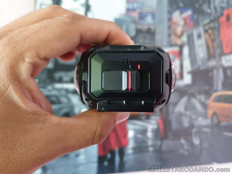 Garmin virb 360 boton grabar