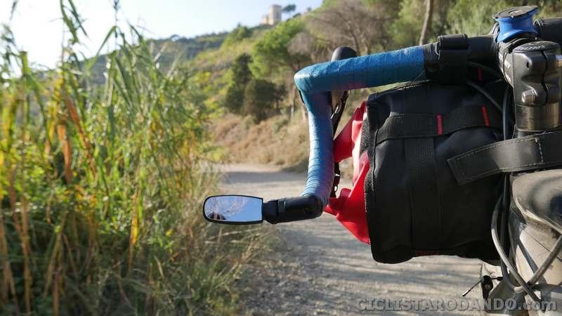 espejos retrovisores bicicleta carretera