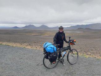 Equipamiento alforjas bicicleta para Islandia