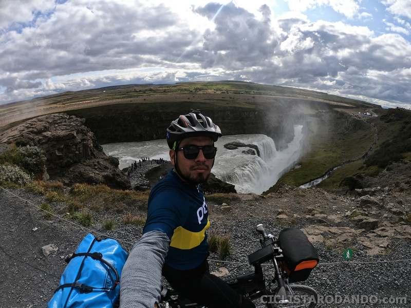 Equipamiento, alforjas y bicicleta para Islandia