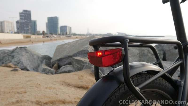 e-bike legend luz trasera