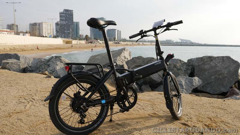 review bicicleta electrica plegable legend monza
