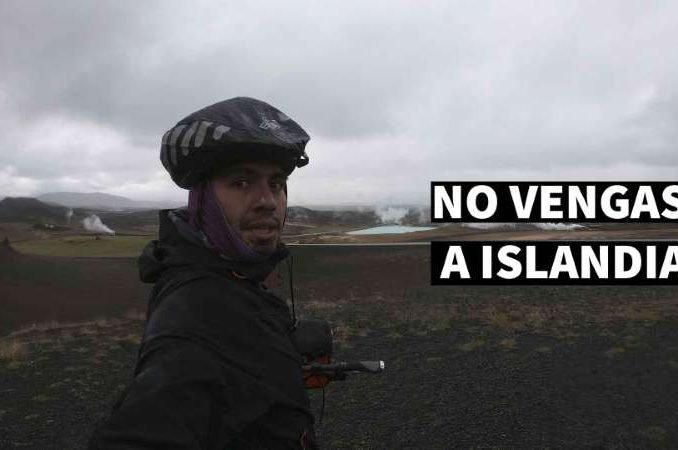 NO VENGAS A ISLANDIA en bicicleta