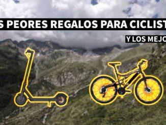 peores y mejores regalos ciclistas