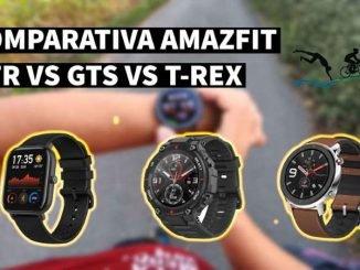 Amazfit T-REX vs GTR vs GTS