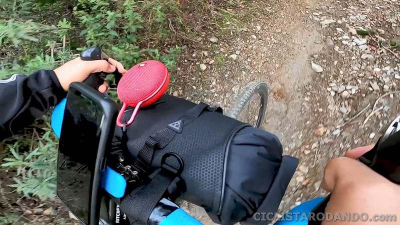 frontloader bike packing