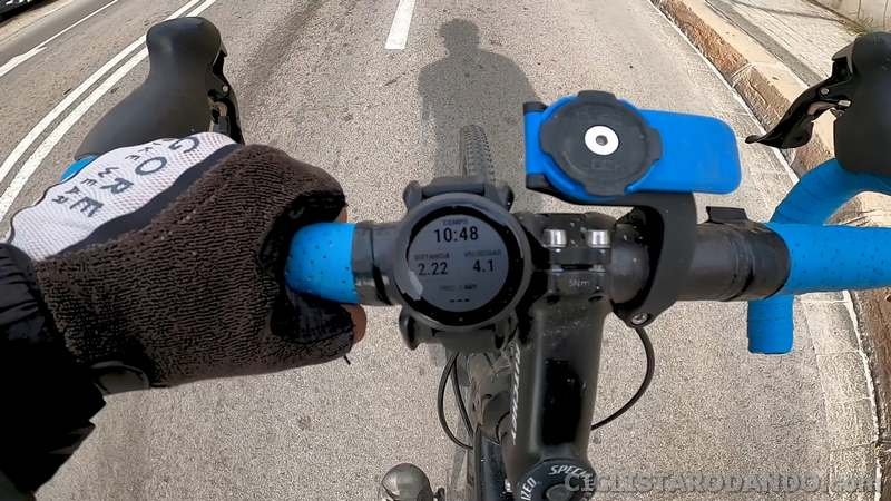 ciclismo garmin vivo active 4