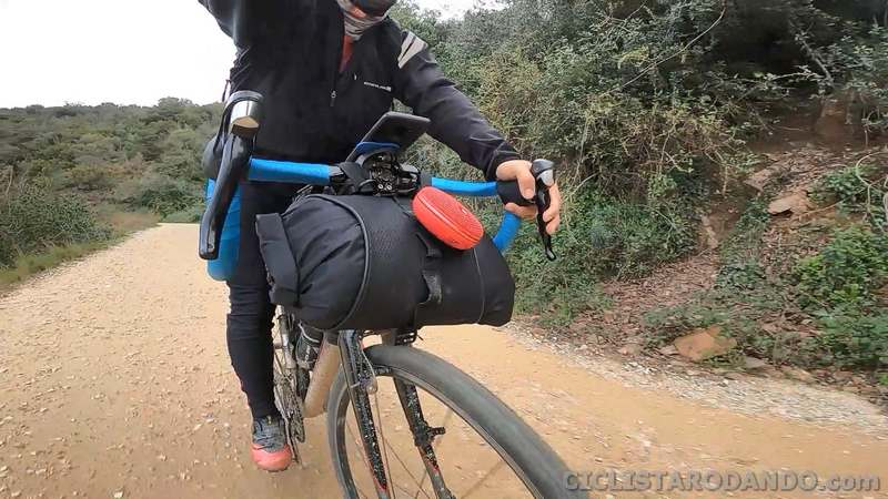 altavoz bicileta bike packing