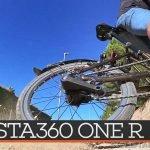 insta360 oner review bicicleta