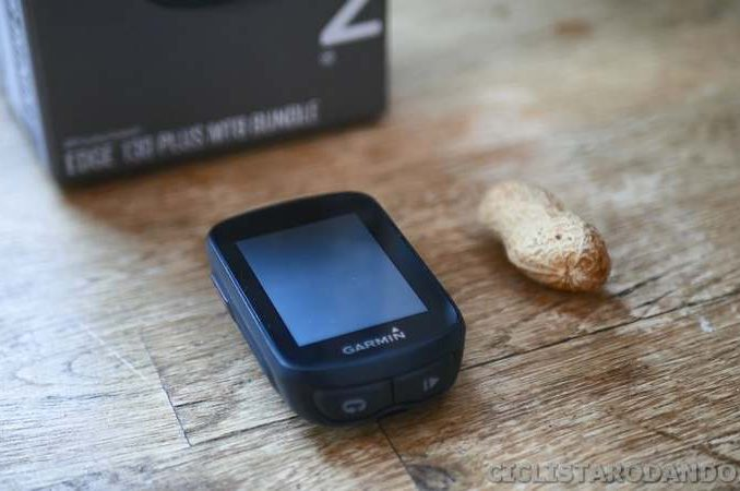 tamaño garmin edge 130 plus