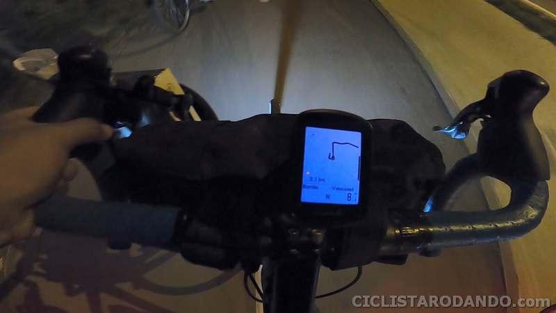pantalla noche garmin edge 130 plus