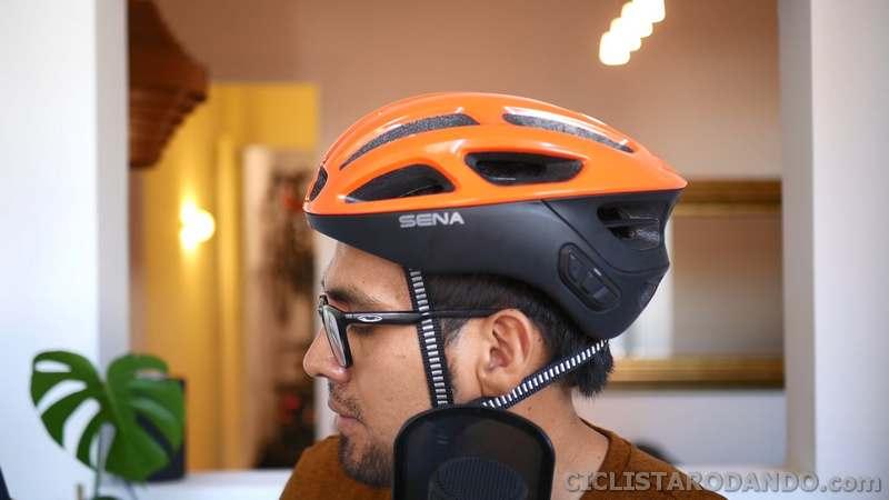 casco de bicicleta con radio fm