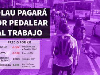 pagar ciclistas barcelona