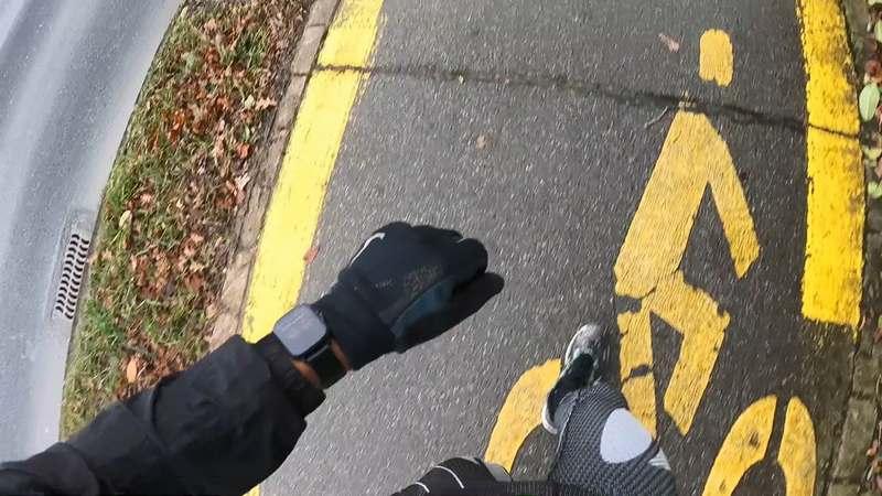 running gts-2 bicicleta