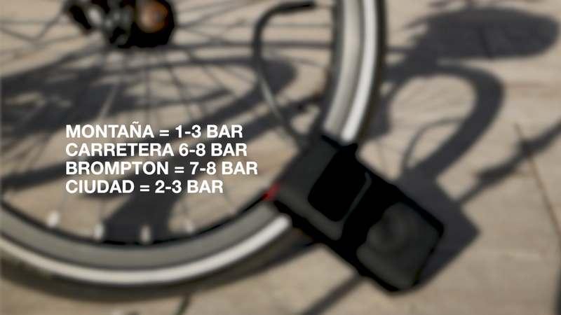 presion ruedas bicicleta