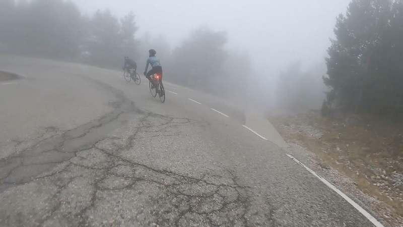 luz visible cr300 niebla bicicleta
