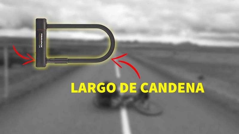 largo cadena bicicleta 23 o 30