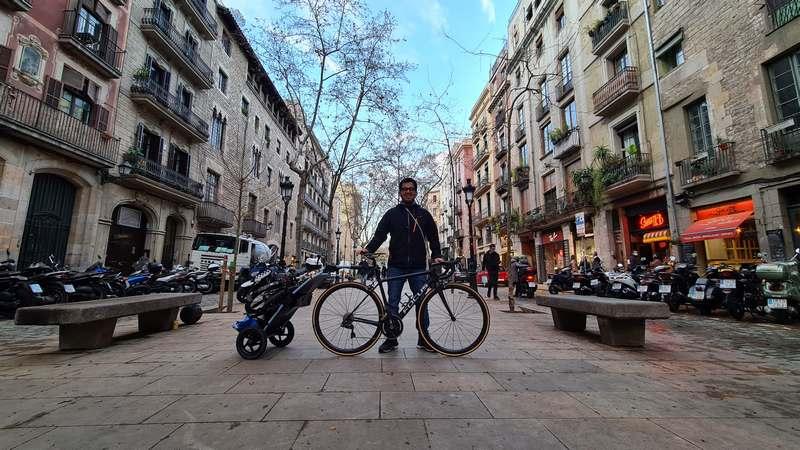 compatible con bicicletas de carbono remolque
