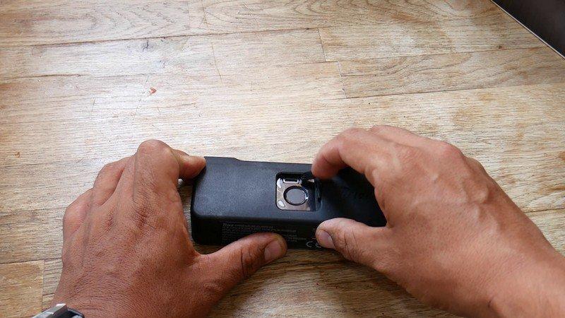 añadir huellas candado digital